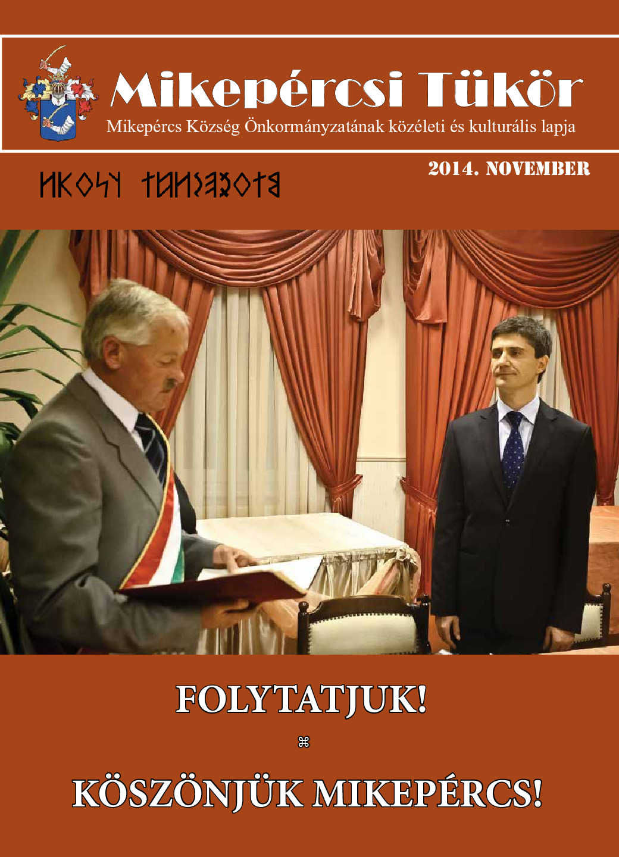 Mikepércsi Tükör 2014. november