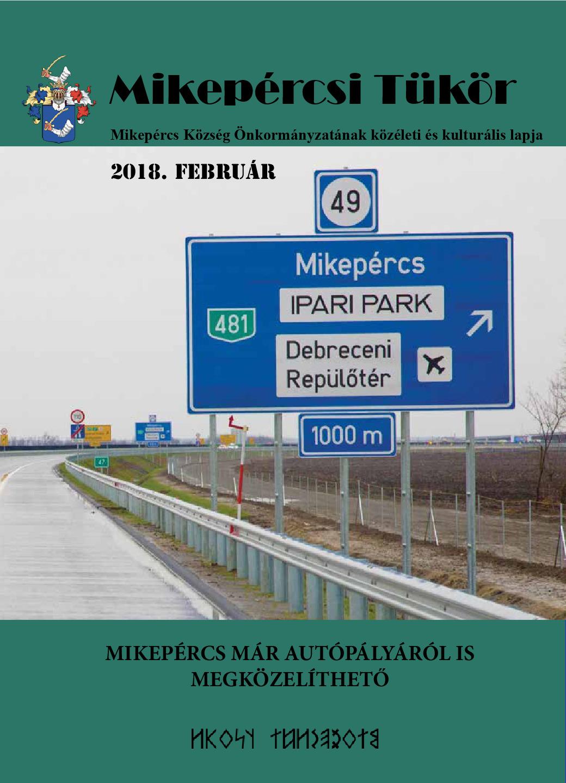 Mikepércsi Tükör 2018. február